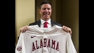 Alabama AD Greg Byrne introduces Brad Bohannon as the Tide