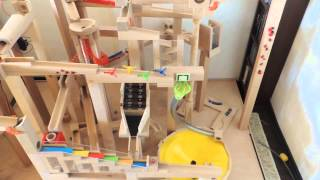 Haba Kugelbahn - the biggest ball track / marble run  in the world