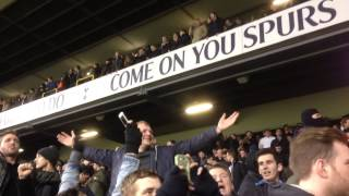preview picture of video 'West Ham fans at White Hart Lane after beating Tottenham 2-1 18/12/2013'