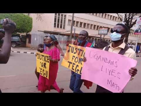 Makerere students arrested over 'Justice for Tegu' protest