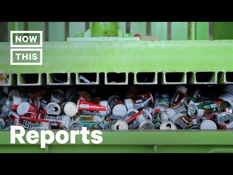 What Happens to Recycling After It's Collected? | NowThis