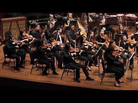 University of Michigan University Philharmonia Orchestra Elias Miller, Conductor   William Appleton: Binary Variations