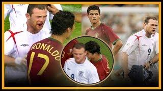 TODO sobre la PELEA de Cristiano Ronaldo y Wayne Rooney
