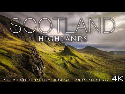 Всё духовное — (4K) Scotland Highlands by Drone! + Chillout