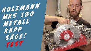 Metall Kapp Säge im Test - Holzmann MKS180 Metall Säge Testbericht