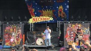"""Neck Deep - """"Gold Steps"""" (Live) Riot Fest Chicago, IL 9/16/2016"""
