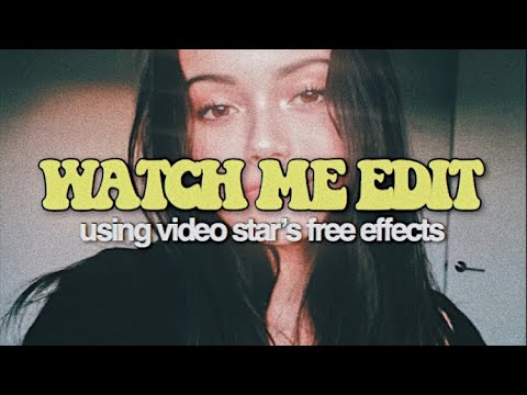 Watch me edit using video star's free effects! | Anindita Annisa