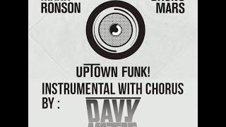 [FREE DOWNLOAD] Mark Ronson - Uptown Funk ft. Bruno Mars (Davy Nataf Instrumental with chorus)