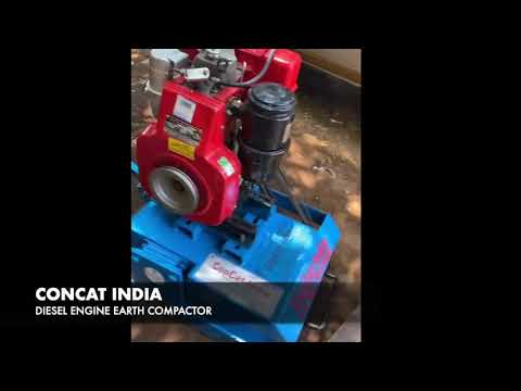Diesel Engine Soil Compactor