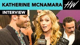 Katherine McNamara Star Of Shadowhunters Reveals She Ate Blood On Set Of Season 3!! I Hollywire
