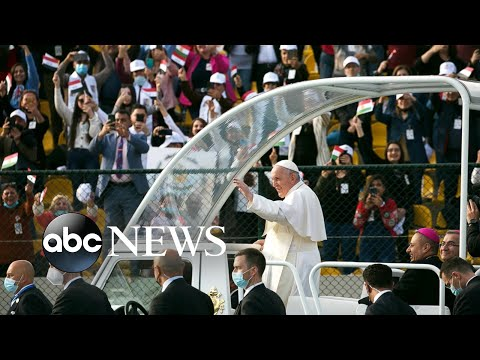 Pope Francis visits Iraq, International Women's Day: World in Photos; March 8, 2021