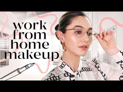 Working From Home Makeup 📎 Zoom Meeting Makeup Tutorial | Karima McKimmie