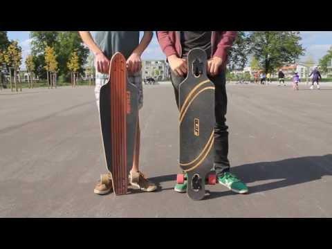 Tutorial - Longboarden lernen für Anfänger : Erste Schritte