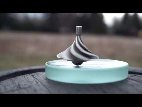 "This spinning top is designed to utilize air currents and go for WAY too long (Inception-style. Called the ""Zephyr"")"