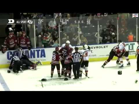 Lawson Crouse vs Tanner Glass