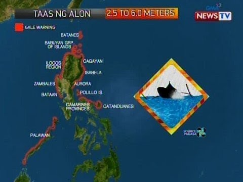 [GMA]  NTVL: Weather update as of 8:20 PM (December 07, 2019)