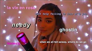SING YOU TO SLEEP ELGH : billie eilish, ariana grande, elvis presley, & more(;
