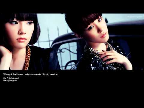 TaeYeon & Tiffany - Lady Marmalade (Studio Version) W/ Download Link! Mp3