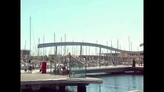 preview picture of video 'Puerto de Barcelona - Port Vell'