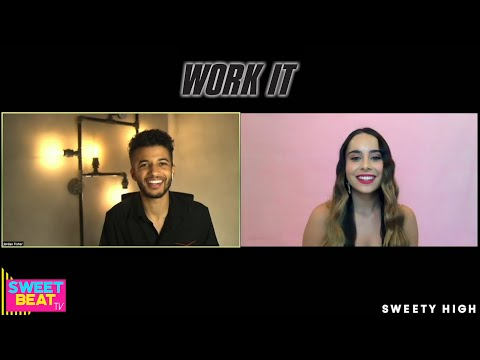 Jordan Fisher Dishes On Steamy Moments With Sabrina Carpenter In 'Work It'