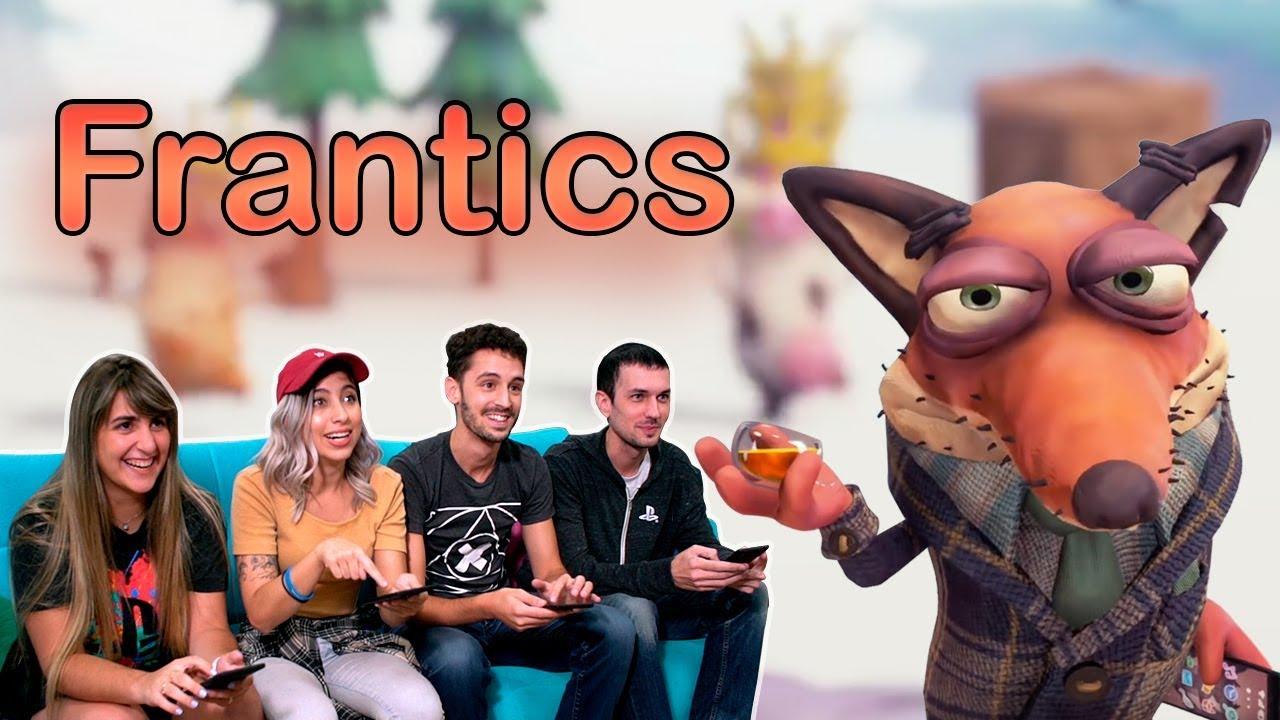 ¡PlayLink y Frantics se Tomaron el Nuevo Episodio de Estación PlayStation!