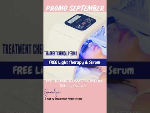 Promo September Treatment Chemical Peeling ( Poliklinik Kosmetik Medik RSU Puri Raharja )