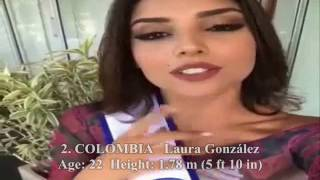Miss Universe 2017 - Early Top 6 / Q & A