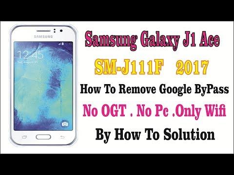 SAMSUNG GALAXY J1 ACE(SM-J111F) FRP LOCK REMOVE WITHOUT PC/SIDESYNC