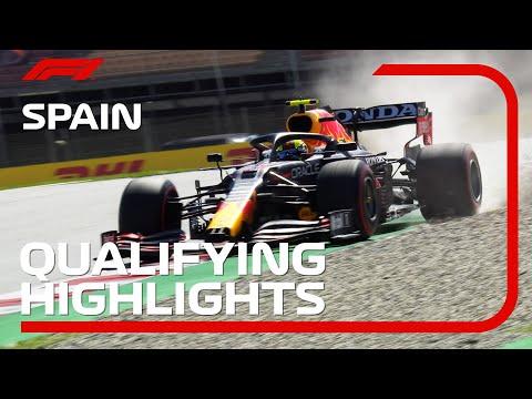 F1第4戦スペインGP予選タイムアタックのハイライト動画