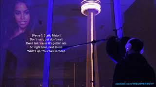 Drake x Aaliyah - Talk Is Cheap [Lyric Video] (ft. Static Major)