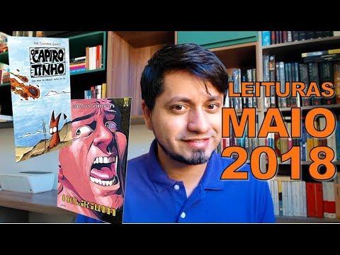 Leituras de Maio 2018   Delirium - Carlos Patricio   O Capirotinho - Guilherme Infante