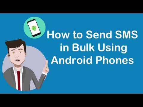 How to Send Bulk SMS Using ANDROID Phone App? | Android bulk sms sender
