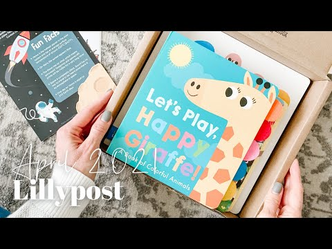 Lillypost Unboxing April 2021
