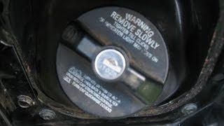 How To Remove Dodge Vehicles Locked Gas Cap - Easiest Way