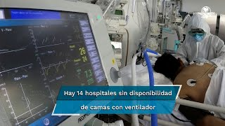 Sube cifra de hospitales sin camas en Valle de México