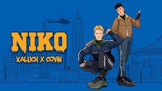 Kadr z teledysku NIKO tekst piosenki KALUCH x COVIN