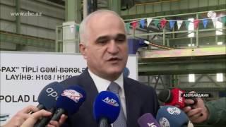 В Азербайджане начинают строить уникальные паромы