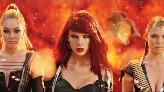 Taylor Swift - Bad Blood Music Video Makeup