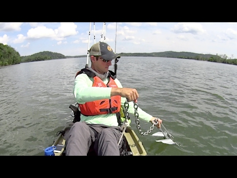How to Anchor a Fishing Kayak