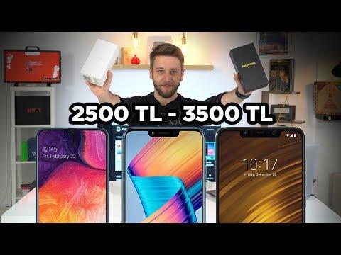 2500 - 3500 TL arası en iyi akıllı telefonlar