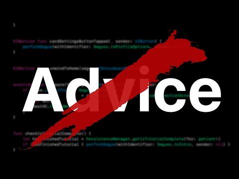 Software Developer Career Advice Sucks thumbnail