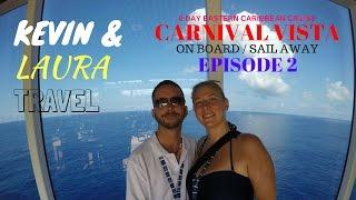 Carnival Vista Sail Away PARTY, Matt Mitcham, Lido Deck Tour, 8 Day Eastern Caribbean Cruise, Gopro