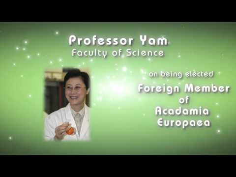 Congratulations to Professor Vivian Yam on being elected Foreign Member of Academia Europaea