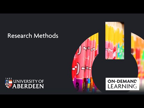 Research Methods - Online short course - YouTube