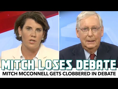 Mitch McConnell Gets Clobbered In Debate