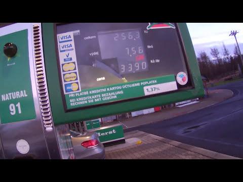 Es ist das Auto-Abbuchung des Benzins gemietet