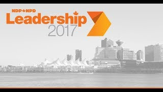 NDP Leadership 2017 Debate - Vancouver // Débat de la course au leadership du NPD - Vancouver