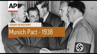 Munich Pact   1938 | Today In History | 30 Sept 17