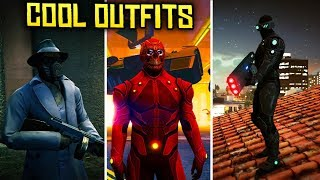 GTA Online AWESOME OUTFITS (Neon Demon, Sandman, Techno Ops & More)