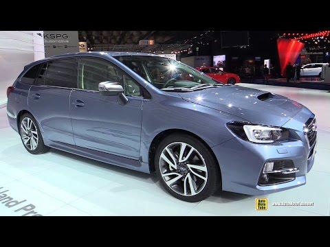 2016 Subaru Levorg - Exterior and Interior Walkaround - 2015 Frankfurt Motor Show